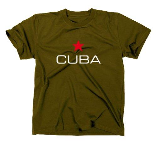 Olive Tee Tee Cuba Cuba LibreFlaggVintage Styletex23 Styletex23 LibreFlaggVintage Styletex23 LibreFlaggVintage Cuba Olive 2WD9IHE