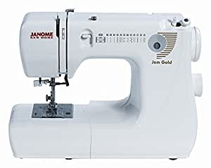 Janome Jem Gold 660 12-Stitch Compact Lightweight Sewing Quilting Machine