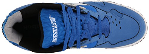 Reebok Scrimmage Mid Mens Fashion Sneakers Model V53284 Cobalt / Seagull / White