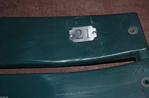 TEXAS RANGERS #21 Seatback Ruben Sierra BALLPARK ARLINGTON Stadium Chair Back