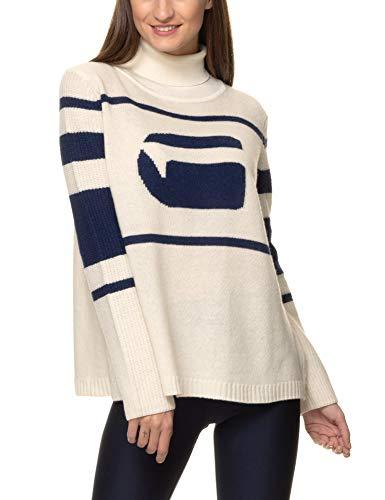 Women's Medium star Size Cyeil Off Ecru G In white Pullover q5HzZCZv