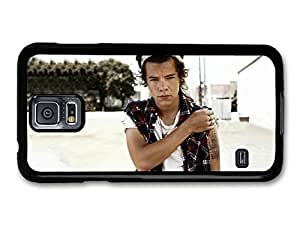 AMAF ? Accessories Harry Styles One Direction 1D Posing case for Samsung Galaxy S5
