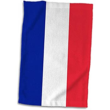 FRENCH FLAG France Flag Lightweight Beach Towel