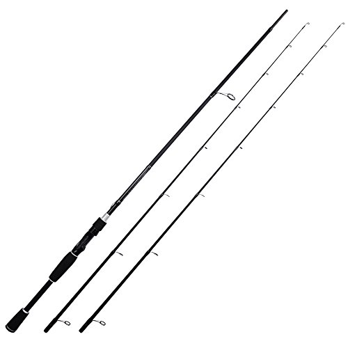 KastKing Perigee II Fishing Rods, Spin Twin-tip 7ft -M and MH-Fast(2Tips+1 Butt Section)