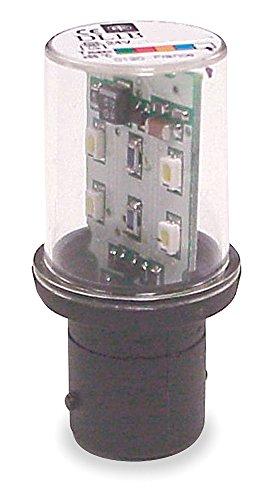(Telemecanique/Schneider Electric - DL1BKB6 - Flashing LED Lamp, Single Contact Bayonet (BA15), 24VAC/DC)