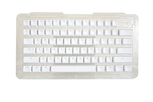 f424d17cd36 iKBC x Vortex Backlit Double-Shot PBT Mechanical Keyboard Keycap Set, White  Color