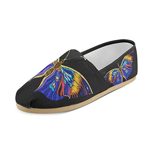D-Story Fashion Sneakers Flats Classic Slip-On Canvas Shoes Loafers Multicoloured11 lSy530L