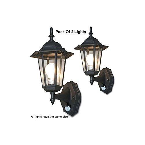 Outdoor Lantern Light With Pir in Florida - 8