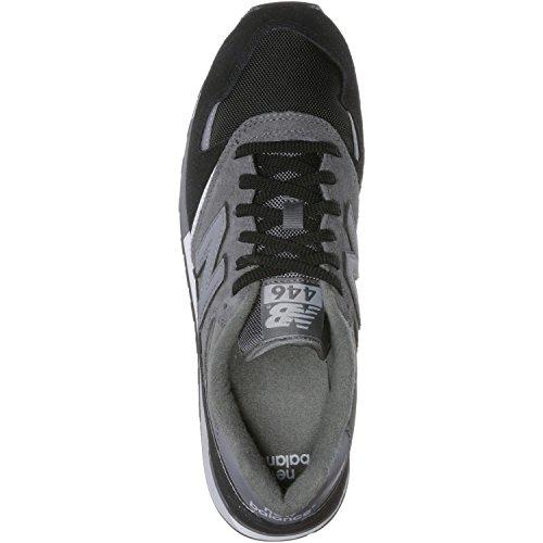 New Balance U446, Zapatillas para Hombre Gris (Grey/black)