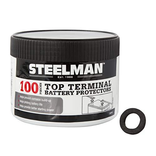 STEELMAN 96992 Terminal Protectors for Top Post Batteries, 100-Pack