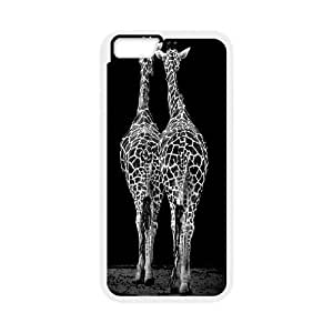 Custom Colorful Case for iphone 4 4s , Giraffe Cover Case - HL-R672812