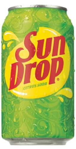 7-UP Sun Drop Soda Soft Drink, 12-Ounce (Pack of 24)