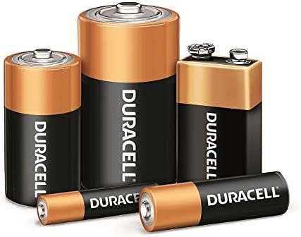 Duracell - CopperTop AA Alkaline Batteries - lengthy lasting, all-purpose Double A battery for family and industry - 6 Count