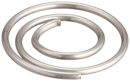 CREATIVE IMPRESSIONS Mini Metal Spiral Clips 25/Package, Pewter