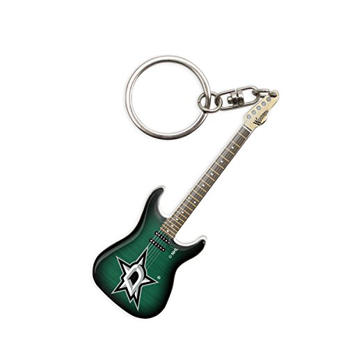 - Woodrow Guitar by The Sports Vault NHL Dallas Stars Guitar Keychain