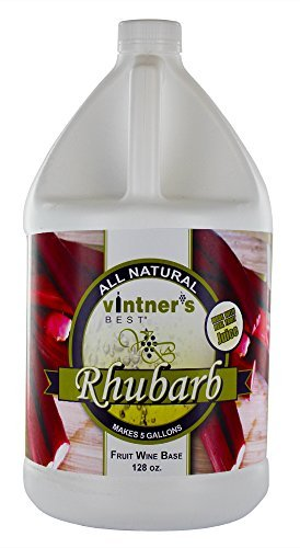 Home Brew Ohio Vintners Best Fruit Wine Base, Rhubarb, 128 oz.