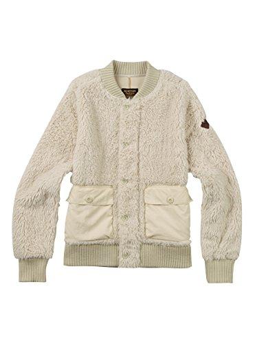 Burton Women's Shawmut Fleece Sweater, Bone White, Medium -