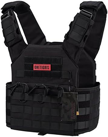 OneTigris PLPC vest tactische carrier vest borstbeschermer voor CS