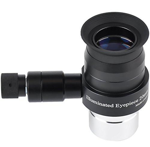 Gosky 1.25inch 20mm Illmination Eyepiece -Supper Plossl Eyep