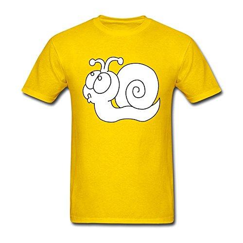 NYShirt Men's Snails Short Sleeve T-Shirt