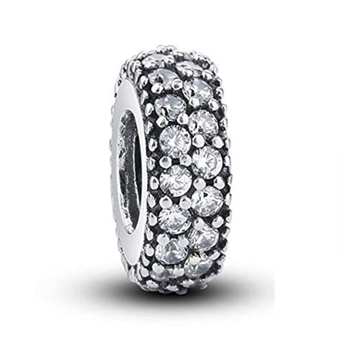 - SUNWIDE Inspiration Within Charm Spacer Fit Pandora Charms Bracelets (Silver)