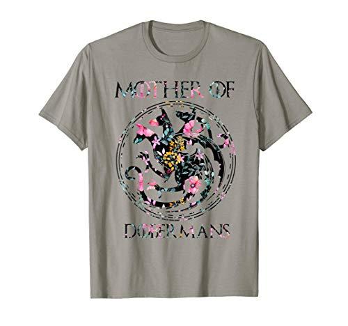 Mother Of Dobermans TShirt Dog Lovers