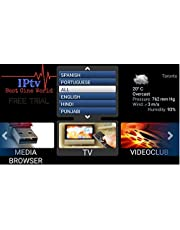 GOLDTV IPTV Suscripción a Todo el Mundo Todos los Canales en Android Box mag Box teléfono Celular y portátil EE.UU, Reino Unido, español, Sudamérica, Brasil, 2000 Canales más.