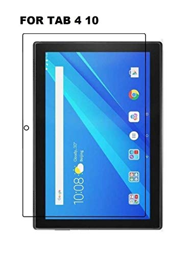 CellShell Tempered Glass Screen Protector for Lenovo Tab 4 10 – (Pack of 2)