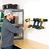 StoreYourBoard Electric Drill Storage Rack, Holds 4