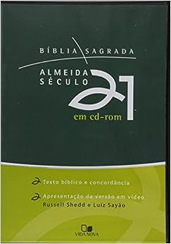 Bíblia Almeida Século 21 - CD-Rom
