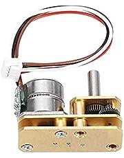 AYUN 1PC UEW Alambre de Cobre de Motor sin escobillas DC 5V 2 Fase 4 Wire Motor Paso a Paso con Metal Gear