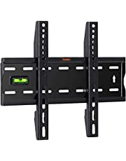 VonHaus 15-42 Inch TV Wall Bracket – Flat to Wall Mount for VESA Compatible Screens, 40kg Weight Capacity