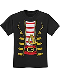 TeeStars - Halloween Pirate Buccaneer Costume Outfit Suit Youth Kids T-Shirt