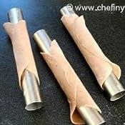 amazoncom fox run 4509 cannoli forms tinplated steel