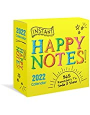 2022 Instant Happy Notes Boxed Calendar: 365 Reminders to Smile and Shine!