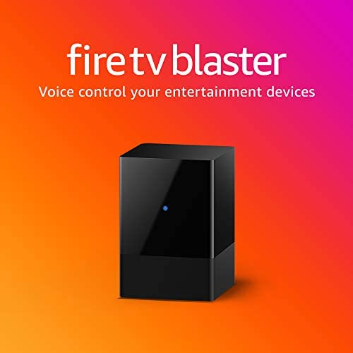 Fire TV Blaster - Add Alexa voice controls for energy and quantity to your TV and soundbar (calls for suitable Fire TV and Echo gadgets)