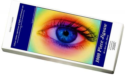 Media Storehouse 1000 Piece Puzzle of Colour vision spectrum of light and human eye (6448785)
