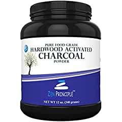 Activated Charcoal Powder only from USA Hardwood Trees (better than the Best Chewable Toothpaste)