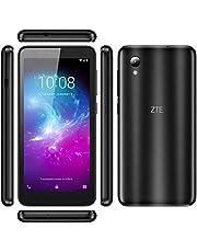 "ZTE Blade A3 Lite 5.0"" 18:9 Display, 8MP Camera Quad-Core Android 9.0 Go (LTE USA Latin Caribbean) 4G LTE GSM Unlocked Smartphone - International Version (Black, 32GB)"