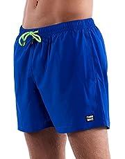 Third Wave Premium Swim Trunks - Men's 5 Inch Inseam Quick Dry Swim Shorts for Beach and Swimming
