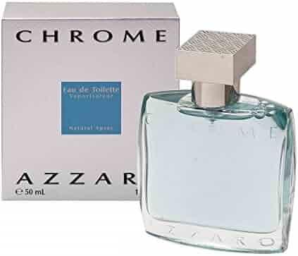 Chrome By Azzaro For Men. Eau De Toilette Spray 1.7 Ounces