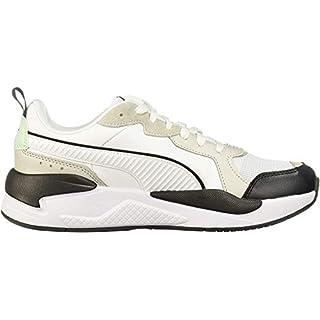 PUMA X-Ray Sneaker, White-Gray Violet-Mist Green Black, 8.5 M US