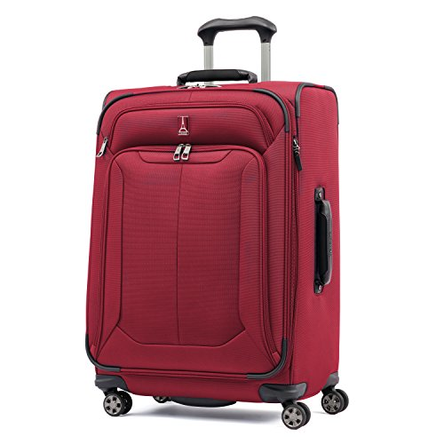 Travelpro Skypro Lite 25'' Expandable 8-Wheel Luggage Spinner (Merlot) by Travelpro
