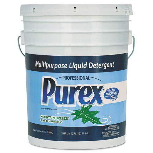 Purex 06354 Concentrate Liquid Laundry Detergent,, 5 gal Capacity, Mountain Breeze, Pail