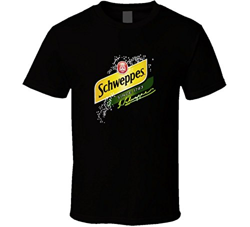gingerale-schweppes-t-shirt-2xl-black
