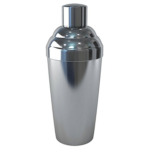 nu steel TG-CS-5B Stainless Steel Big One Cocktail Shaker, 110 oz, Shiny (Extra Large Shaker Cocktail)