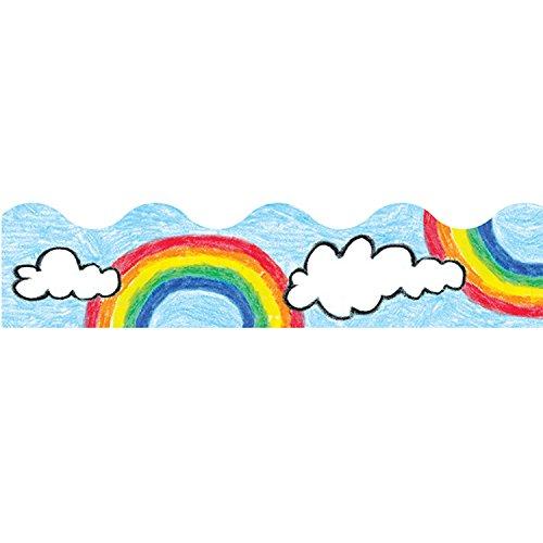 (TREND enterprises, Inc. T-9882BN Rainbow Terrific Trimmers, 39' Per Pack, 12 Packs)