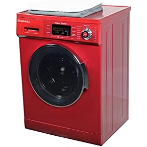 1.6 Cu.ft. New Compact Combo Washer Dryer SK 4400 CV Merlot with Optional Venting/ Condensing Drying with Automatic Water Level and Sensor Dry
