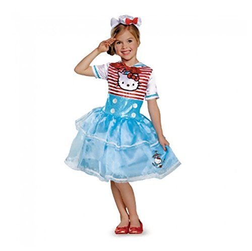 Disguise Girls Sailor Costume Gloves
