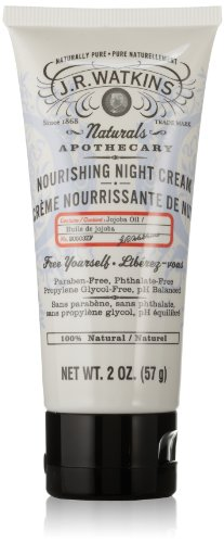 J.R. Watkins Nourishing Night Cream, 2 Ounce